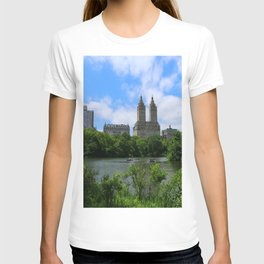 San Remo Towers And The Lake T-shirt