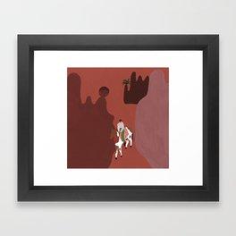 Amitié & Aventures III Framed Art Print
