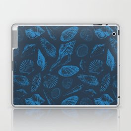 Tropical sea shells Laptop & iPad Skin