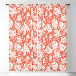 Magnolia Shower Blackout Curtain