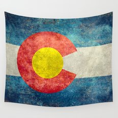 Coloradan State Flag Wall Tapestry