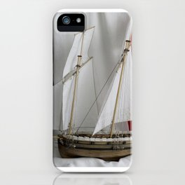 Le Coureur, french flag iPhone Case