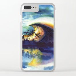 Storm ridge Reef Clear iPhone Case