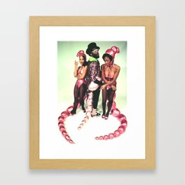 Mr. Wiggles with Giggles & Squirm Framed Art Print