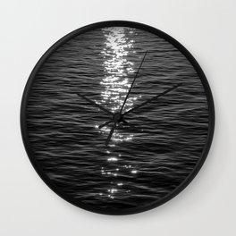 Dark Shimmer Wall Clock