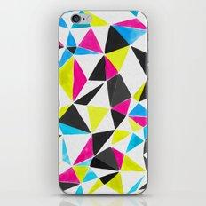 watercolor geometry CMYK iPhone & iPod Skin