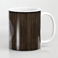 skyrim Mugs featuring Shield's of Skyrim - Riften  by VineDesign