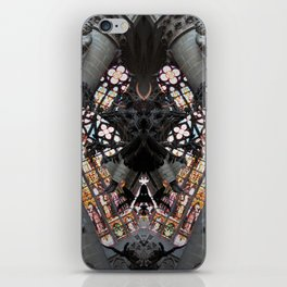 Cathedral of St. Michael and St. Gudula daemon  roschach symmetry caleidoscope iPhone Skin