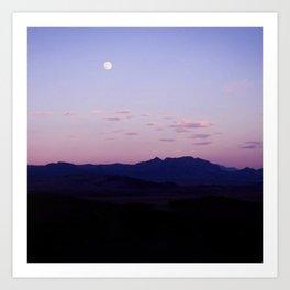 outcast moon  Art Print