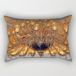 Chandelier Sparkle Rectangular Pillow