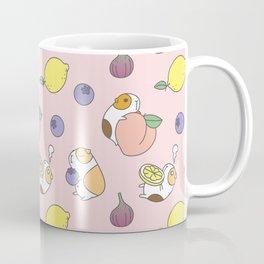 Guinea pig and fruits pattern Coffee Mug