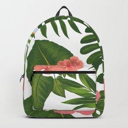 Jungle Floral Print Backpack