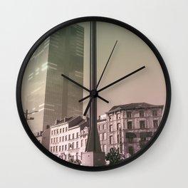 Surrealism City Wall Clock