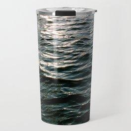 Waves No.4 Travel Mug