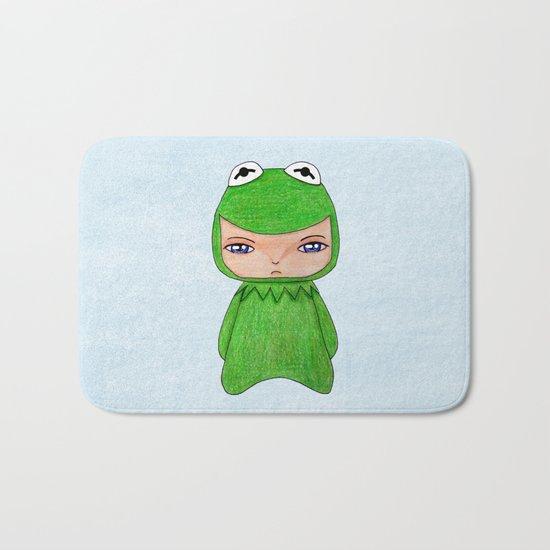 A Boy - Kermit the frog Bath Mat