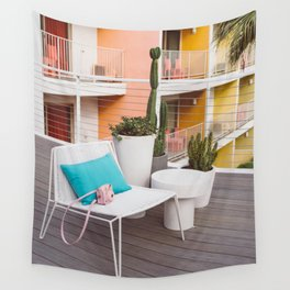 Palm Springs Vibes IV Wall Tapestry
