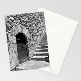 A door in Taormina, Sicily Stationery Cards