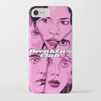the breakfast club iPhone & iPod Cases featuring Breakfast Club by David Amblard