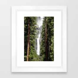 Yosemite Falls Framed Art Print