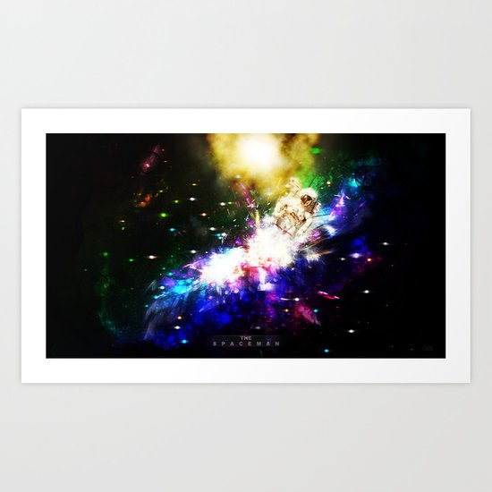 The Spaceman Art Print