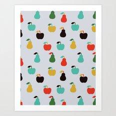 Apples + Pears Art Print