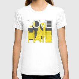 HATE LOVE T-shirt