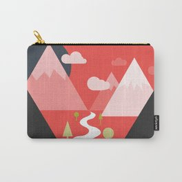 There's a whole world out there Carry-All Pouch