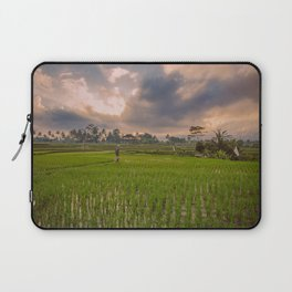 Bali rice field Laptop Sleeve
