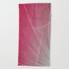 Abstract Lines 2 Beach Towel