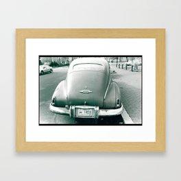 Back Side Framed Art Print