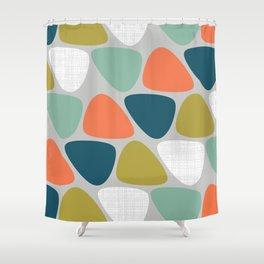 MCM Lozenge Shower Curtain