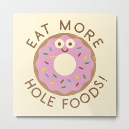 Do's and Donuts Metal Print