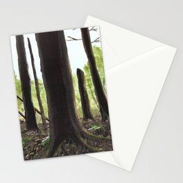 The Woods behind our Home Stationery Cards