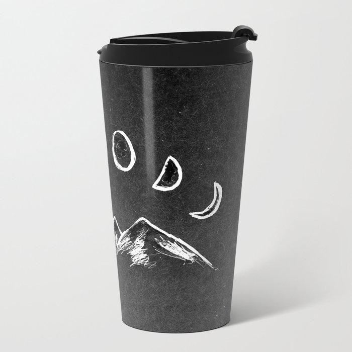 Mountain Moon Metal Travel Mug