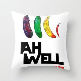 AH WELL Throw Pillow