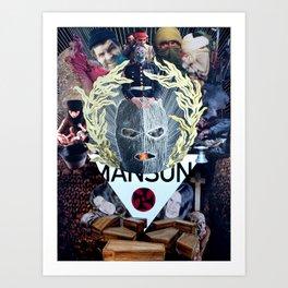 WARMEAT // MAN'S SON Art Print