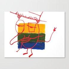 Frenchmannn Canvas Print