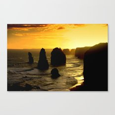 Sunset over the Twelve Apostles - Australia Canvas Print