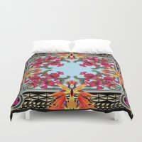 givenchy Duvet Covers featuring Givenchy Print by I Love Decor