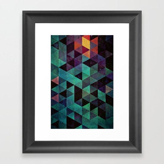 dyyp tyyl Framed Art Print