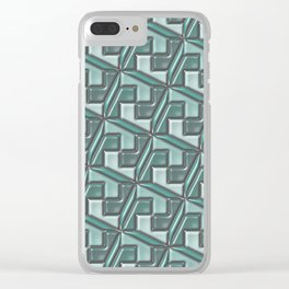 Geometrix 160 Clear iPhone Case