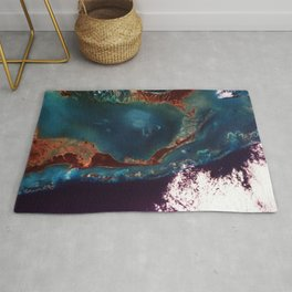 The Large Magellanic Cloud a satellite galaxy to our own Milky Way galaxy Rug