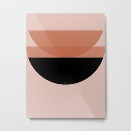 Abstract Composition 12 - Lotus Metal Print