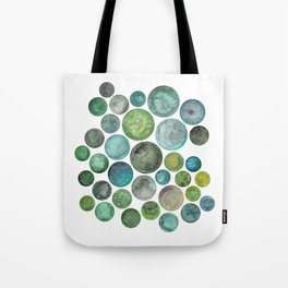 For the Love of Green Tote Bag