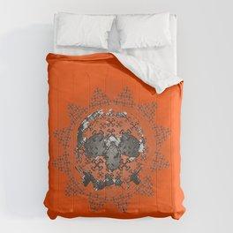Skull and Crossbones Medallion Comforters
