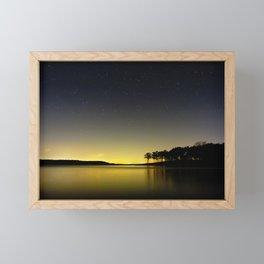 Texoma Shore Framed Mini Art Print