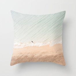 Atlantic Ocean Throw Pillow