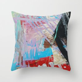 Choose Soon Evaluate Throw Pillow