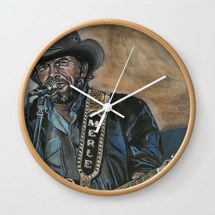 Haggard Wall Clock