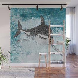Sharky Wall Mural